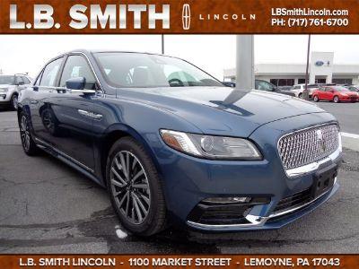 2018 Lincoln Continental Select (Blue Diamond Metallic)