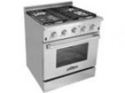 Thor Kitchen HRGU Professional Style Stainless Steel Gas Ran