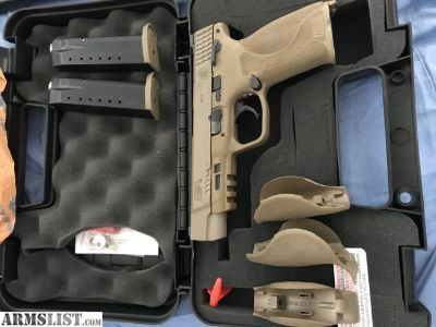 """For Sale: S&W M&P 40 2.0 5"""" FDE"""