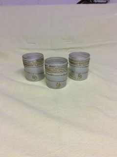 Set of 3 silver and gold with rhinestones Votive Candle Holders. Each comes with a votive candle,