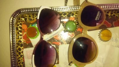 Two pairs of sunglasses