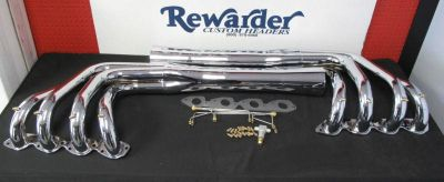 Sell Rewarder Chrome Boat Headers, Big Block Chevy, Standard, Jet Drive, V-Drive motorcycle in Camarillo, California, US, for US $945.00