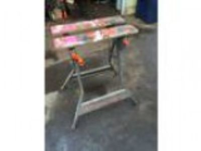 Black and Decker Workmate stand (West th - St Paul)