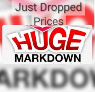 Dropped Prices on Everything
