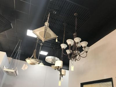 Clearance fixtures at Spring Hill lighting !