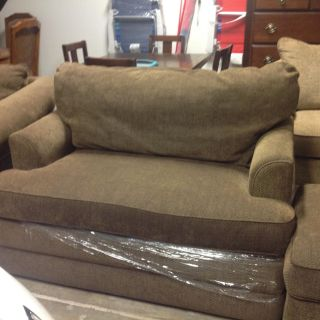 LazyBOY COUCH,SOFA CHAIR AND OTTOMAN.