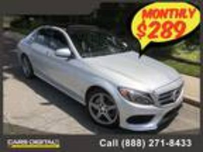 $26850.00 2015 MERCEDES-BENZ C-Class with 34480 miles!