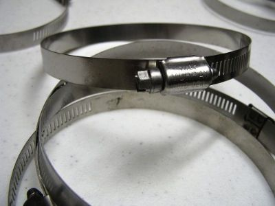 Find Exhaust Stack Stainless Steel Worm Gear Clamps 3 9/16-4 1/2 inch 10 Clamps 1226 motorcycle in Big Sandy, Tennessee, United States, for US $10.00