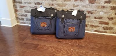 Pair of New with Tags Auburn Stadium Seats and Blanket Combo. Made by North Pole.