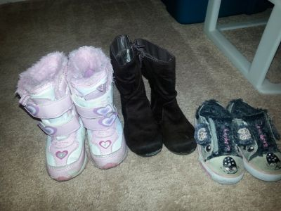 Toddler Size 8 boots/ shoes
