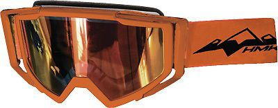 Purchase HMK Carbon Snowmobile Goggles Orange motorcycle in Lee's Summit, Missouri, United States, for US $89.95