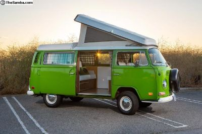 1972 Westy Pop Top Ready for Adventure