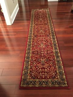 "Safavieh Lyndhurst Traditional Oriental Red and Black Runner 2'3"" x 10'"
