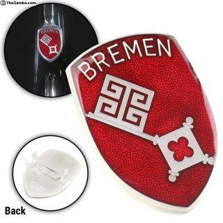 Bremen Hood Badge Crest Emblem