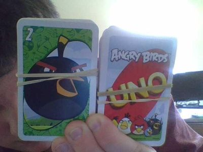 angry bird uno