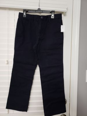 Boy's Size 8 Husky Navy Blue Gap Brand Pants - New in Pkg