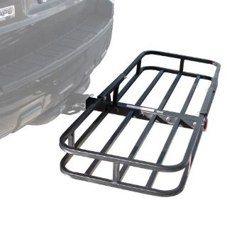 """Buy 500 lb Steel Cargo Carrier 2"""" Trailer Hitch Luggage Hauler Rack Basket CC-1951 motorcycle in West Bend, Wisconsin, United States"""