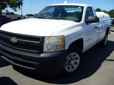 2009 Chevrolet Silverado 1500 Work Truck (WHI)