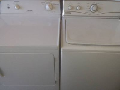 Maytag Hotpoint Washer Dryer Set