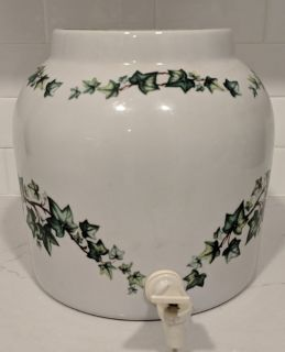 Ceramic Crock-Water Bottle Dispenser