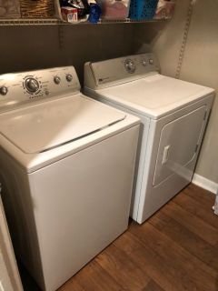 Washer and Dryer Electric Works Great