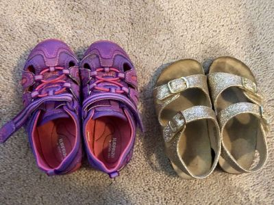 Toddler size 7 used shoes