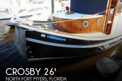 1983 Crosby Crosby Yachts Classic 26 Tug Trawler