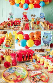 ISO: Daniel Tiger party supplies