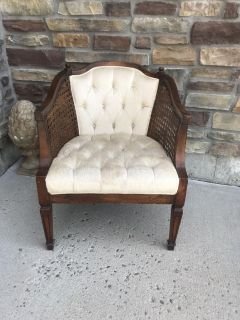 Beautiful vintage cane chair