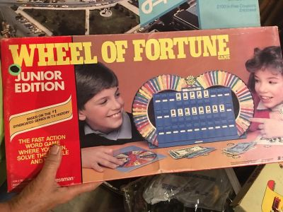 Vintage Wheel Of Fortune Game