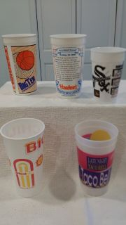 1993 - Collectible Plastic Cups