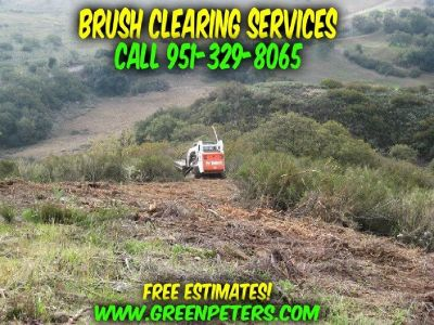 Brush Clearing Services Wildomar CA