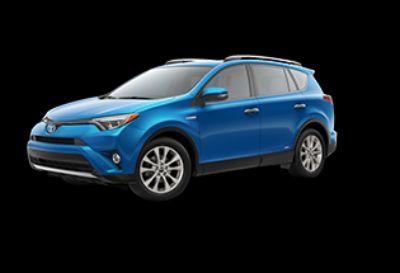 2018 Toyota RAV4 Limited Hybrid AWD-i (Electric Storm Blue)