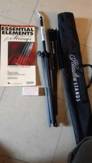 Music stand, Rosin & Essential Elements for strings