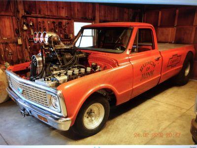 1971 Chevy blown hemi pull truck
