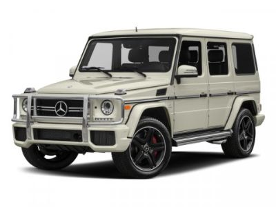 2018 Mercedes-Benz G-Class AMG  G 63 SUV (designo Platinum Black Metallic)