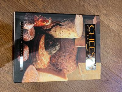Cheeses of the World Book, large, hardcover, coffee table book
