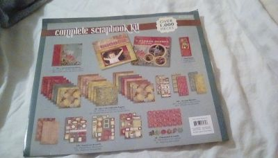 Scrapbooking kit with album