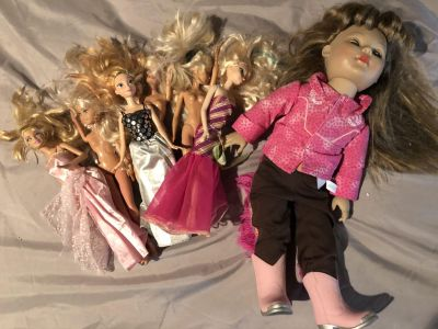 Misc Barbies and Dolls