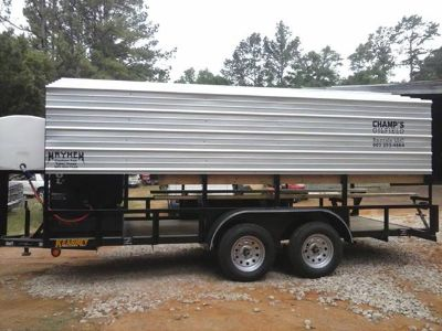 Oilfield cooling trailers for rent or sale