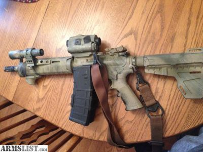 "For Sale: DPMS 10.5"" pistol"