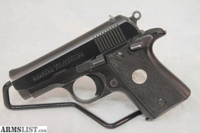 For Sale: Colt Mustang Pocketlite, .380acp, 1-6rd Mag