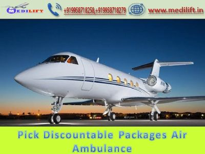 Hire Incentive Air Ambulance Kolkata by Medilift Air Ambulance