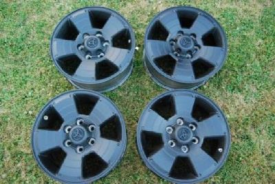 "$300 OBO Black Toyota 4Runner/Tacoma/FJ 17"" 6x5.5 Wheels/Rims"