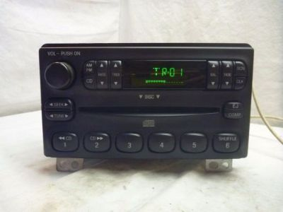Find 2001-2004 Ford Mustang Explorer OEM Radio Single Disc Cd 4L2T-18C815-EA C69230 motorcycle in Williamson, Georgia, United States, for US $115.00