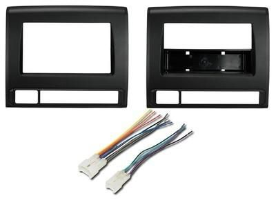 Purchase Toyota Tacoma COMPLETE Car Stereo Radio Installation Dash Trim Bezel Panel Kit motorcycle in Oliver Springs, Tennessee, US, for US $45.94