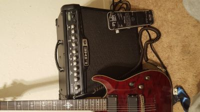 Guitar, Amp, and Pedal