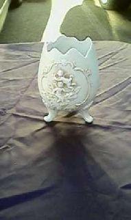Vintage Porcelain Egg Vase