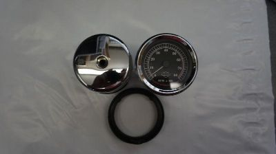 Purchase USED HARLEY DAVIDSON TACH 107612 WITH HOUSING AND RUBBER GASKET TACHOMETER motorcycle in Gambrills, Maryland, US, for US $21.50