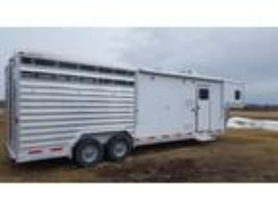 Available 26 Exiss Stock Combo Living Quarters Trailer